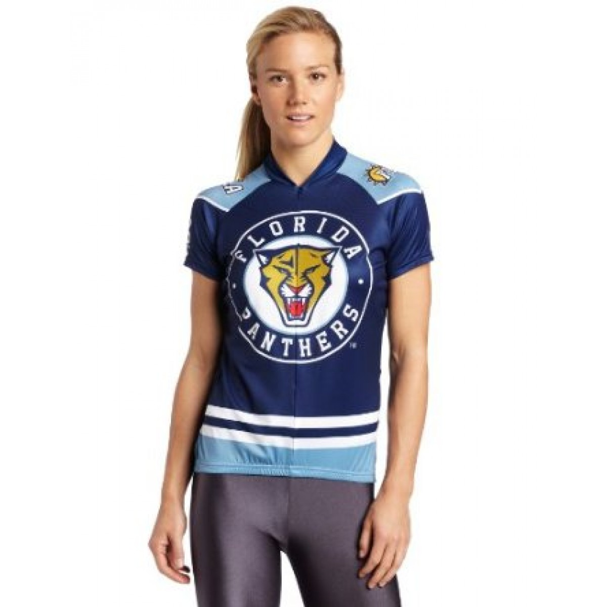 NHL Team Florida Panthers Cycling Jersey Short Sleeve