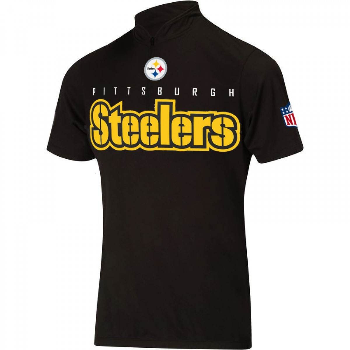 NFL  Pittsburgh Steelers Cycling  Short Sleeve Jersey