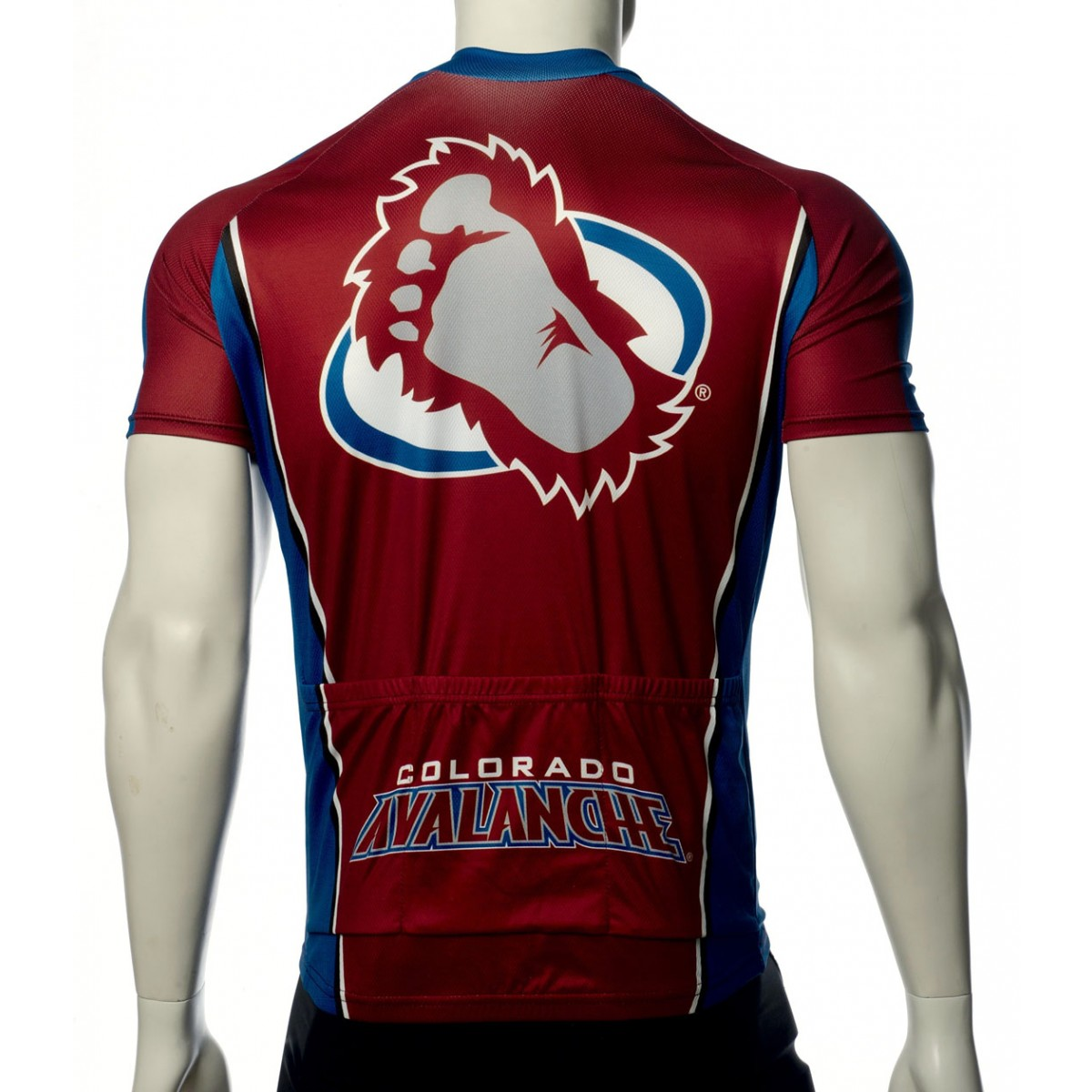 NHL Team Colorado Avalanche Cycling Jersey Short Sleeve