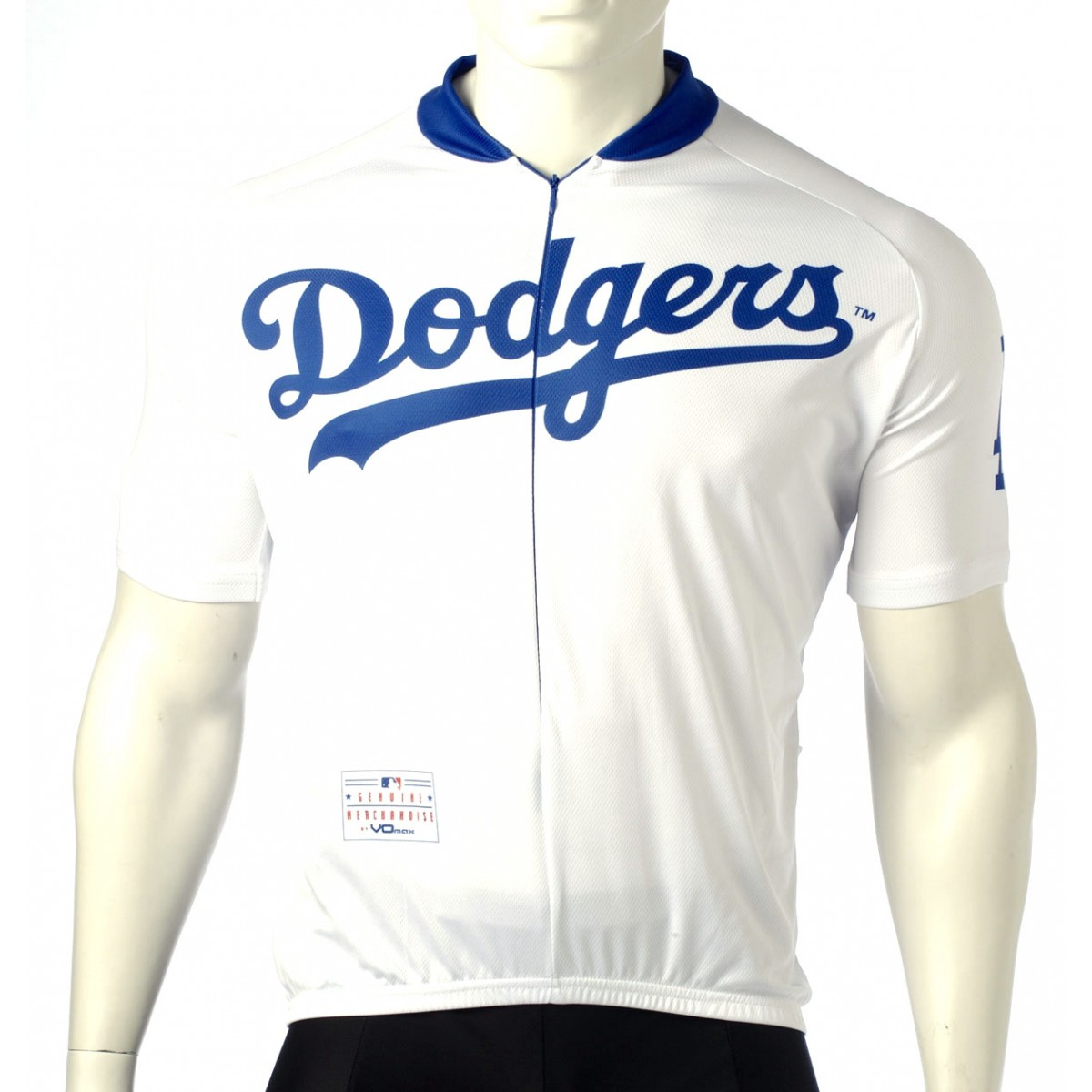 MLB Los Angeles Dodgers Cycling Jersey Short Sleeve