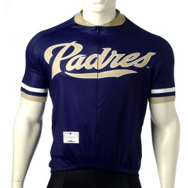 MLB San Diego Padres Cycling Jersey Short Sleeve