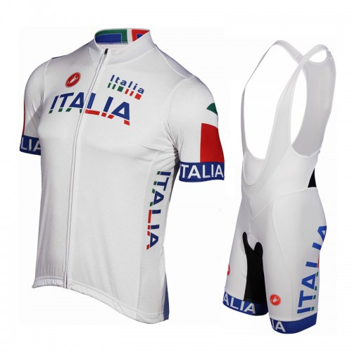 2012 Team Italia London Olympic cycle jersey + bib shorts kit
