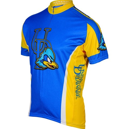 UD University of Delaware Cycling Short Sleeve Jersey