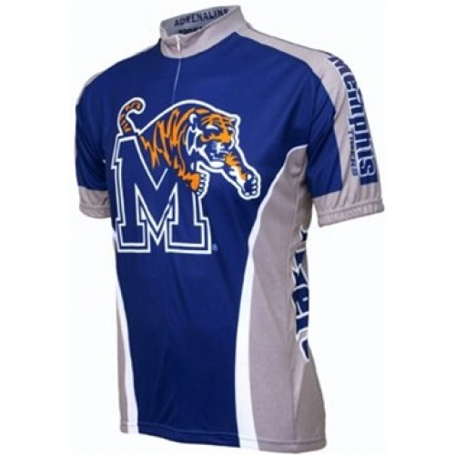 University of Memphis Tigers Cycling  Short Sleeve Jersey