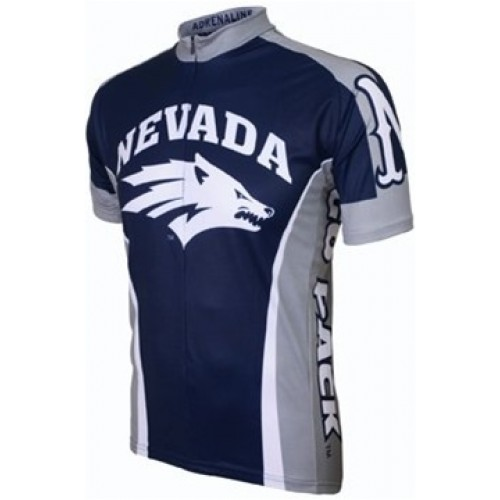 UNR University of Nevada Reno Wolf Pack Cycling  Short Sleeve Jersey