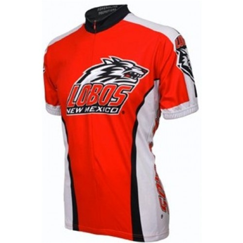 UNM University of New Mexico Lobos Cycling  Short Sleeve Jersey