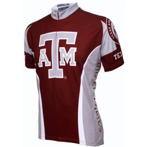 Texas A&M Aggies Cycling  Short Sleeve Jersey
