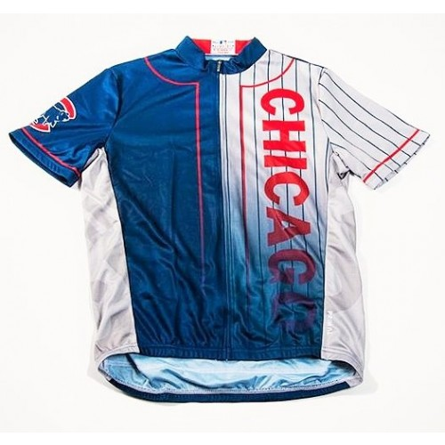 MLB Chicago Cubs Cycling Jersey Short Sleeve