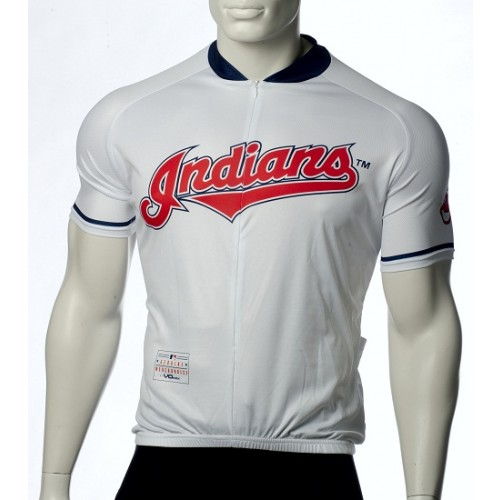 MLB Cleveland Indians Cycling Jersey Bike Clothing Cycle Apparel Shirt Ciclismo