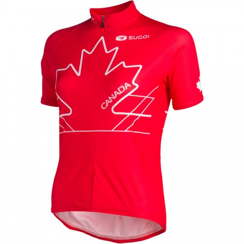 Canada National Flag Cycling Jerseys Bike Clothing Bicycle Apparel Cycle outfits Ciclismo Ropa fiets kleding Fahrrad