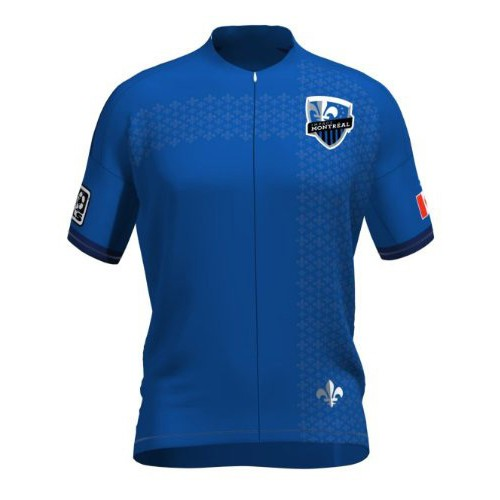 MLS Montreal Impact Short Sleeve Cycling Jersey Bike Clothing Cycle Apparel
