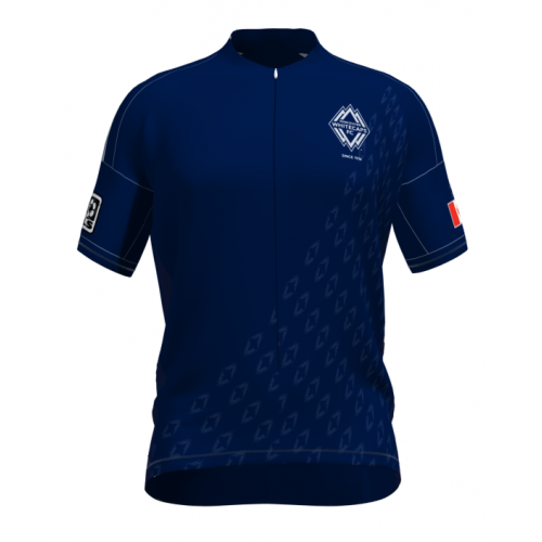 MLS Vancouver Whitecaps FC Short Sleeve Cycling Jersey Bike Clothing Cycle Apparel