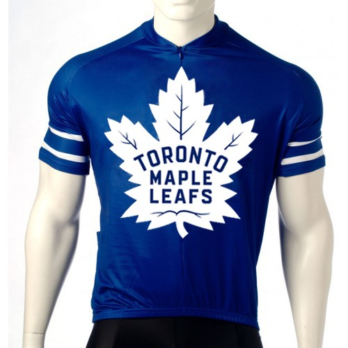 Team Toronto Maple Leafs Cycling Jersey Short Sleeve