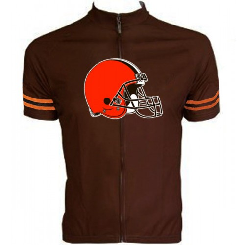 NFL Cleveland Browns Cycling Jersey Short Sleeve