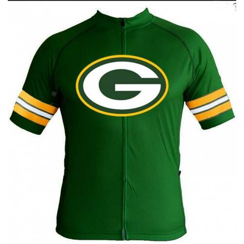 NFL green bay packers Cycling Jersey Short Sleeve