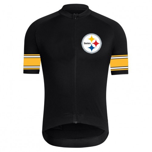 NFL  Pittsburgh Steelers Short Sleeve Cycling Jersey Bike Clothing