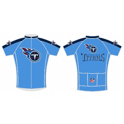 NFL Tennessee Titans Short Sleeve Cycling Jersey Bike Clothing