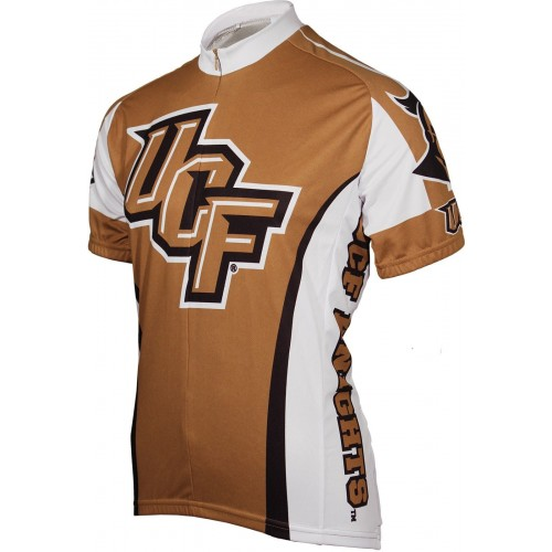 UCF University of Central Florida Golden Knights Cycling Jersey Short Sleeve Jersey
