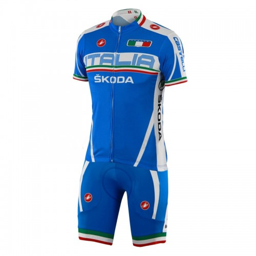 2013 ITALIA Limburg Short Sleeve Cycling jersey + Shorts Kit
