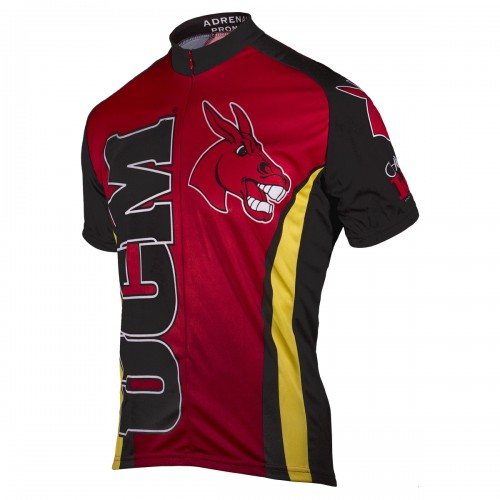 UCM University of Central Missouri Mo Mule Cycling Jersey Short Sleeve