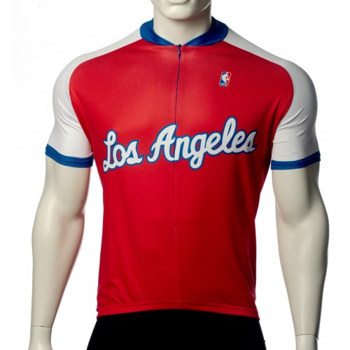 NBA Los Angeles Clippers Cycling Jersey Short Sleeve