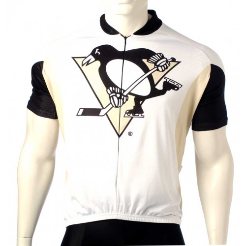 Team Pittsburgh Penguins Cycling Jersey Short Sleeve