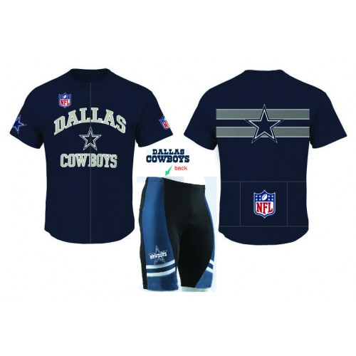 NFL  DALLAS COWBOYS Cycling  Short Sleeve Jersey