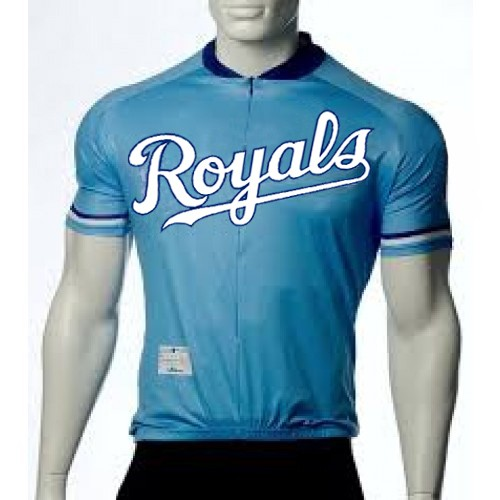 MLB Kansas City Royals Cycling Jersey Bike Clothing Cycle Apparel Shirt Ciclismo
