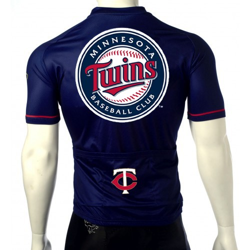 MLB Minnesota Twins Cycling Jersey Short Sleeve