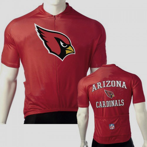 NFL  Arizona Cardinals Cycling  Short Sleeve Jersey