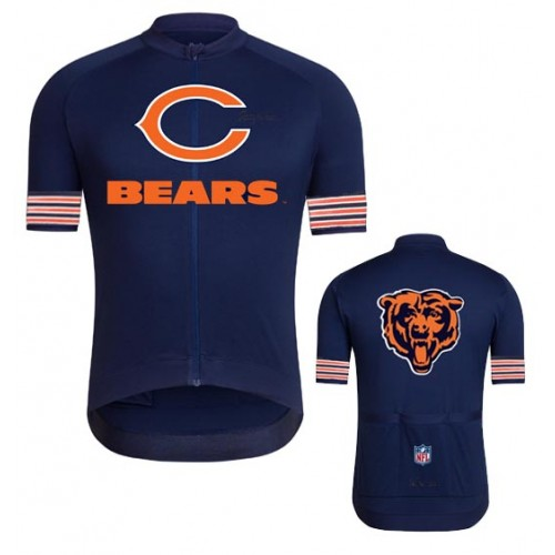 NFL  Chicago Bears Cycling  Short Sleeve Jersey