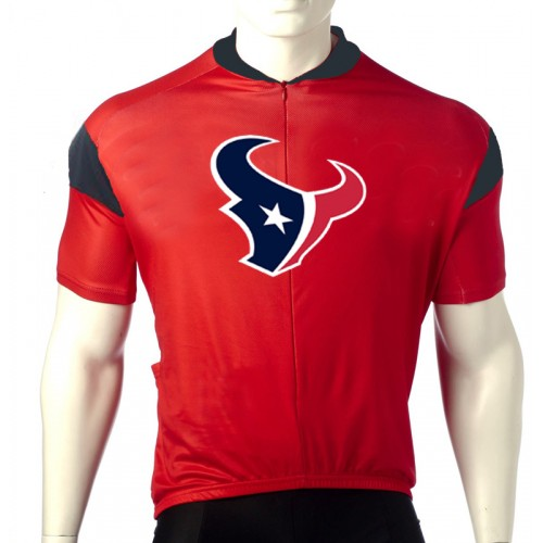 NFL  Houston Texans Cycling  Short Sleeve Jersey