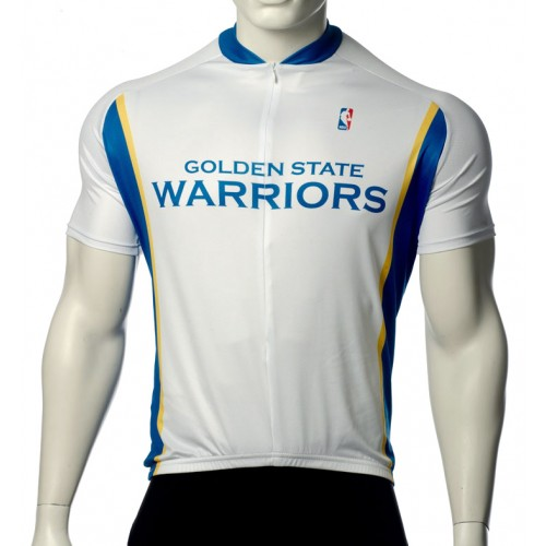 NBA Golden State Warriors Cycling Jersey Short Sleeve