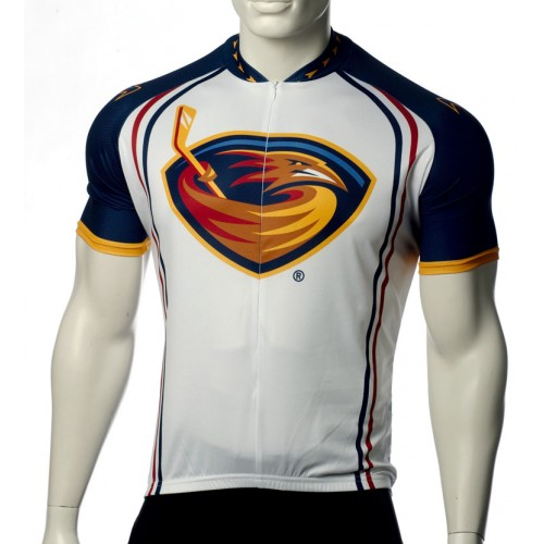 Team Atlanta Thrashers Short Sleeve Cycling Jersey