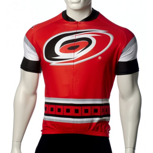 Team Carolina Hurricanes Short Sleeve Cycling Jersey