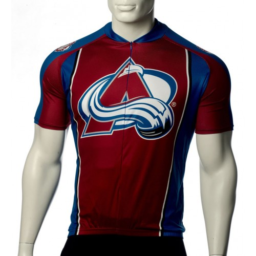 NHL Colorado Avalanche Cycling Jersey Short Sleeve