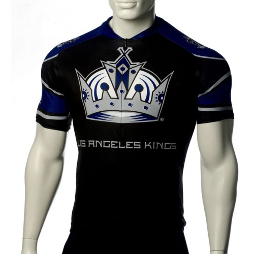 Team Los Angeles Kings Cycling Jersey Short Sleeve
