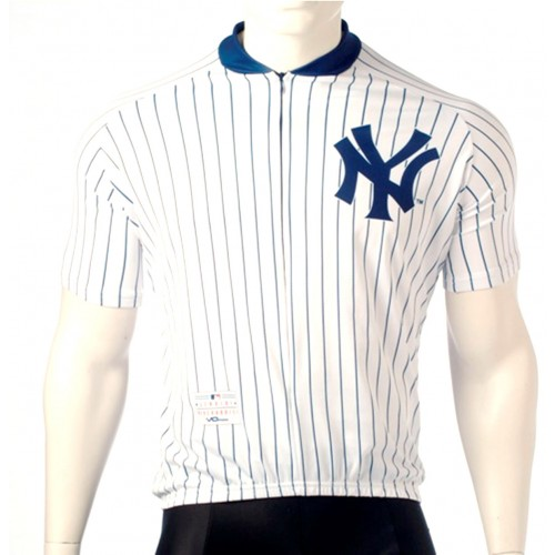 MLB New York Yankees Cycling Jersey Short Sleeve