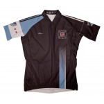 MLS CHICAGO FIRE Short Sleeve Cycling Jersey Bike Clothing Cycle Apparel